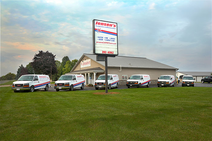 Jensen's Carpet Care & Restoration Fleet