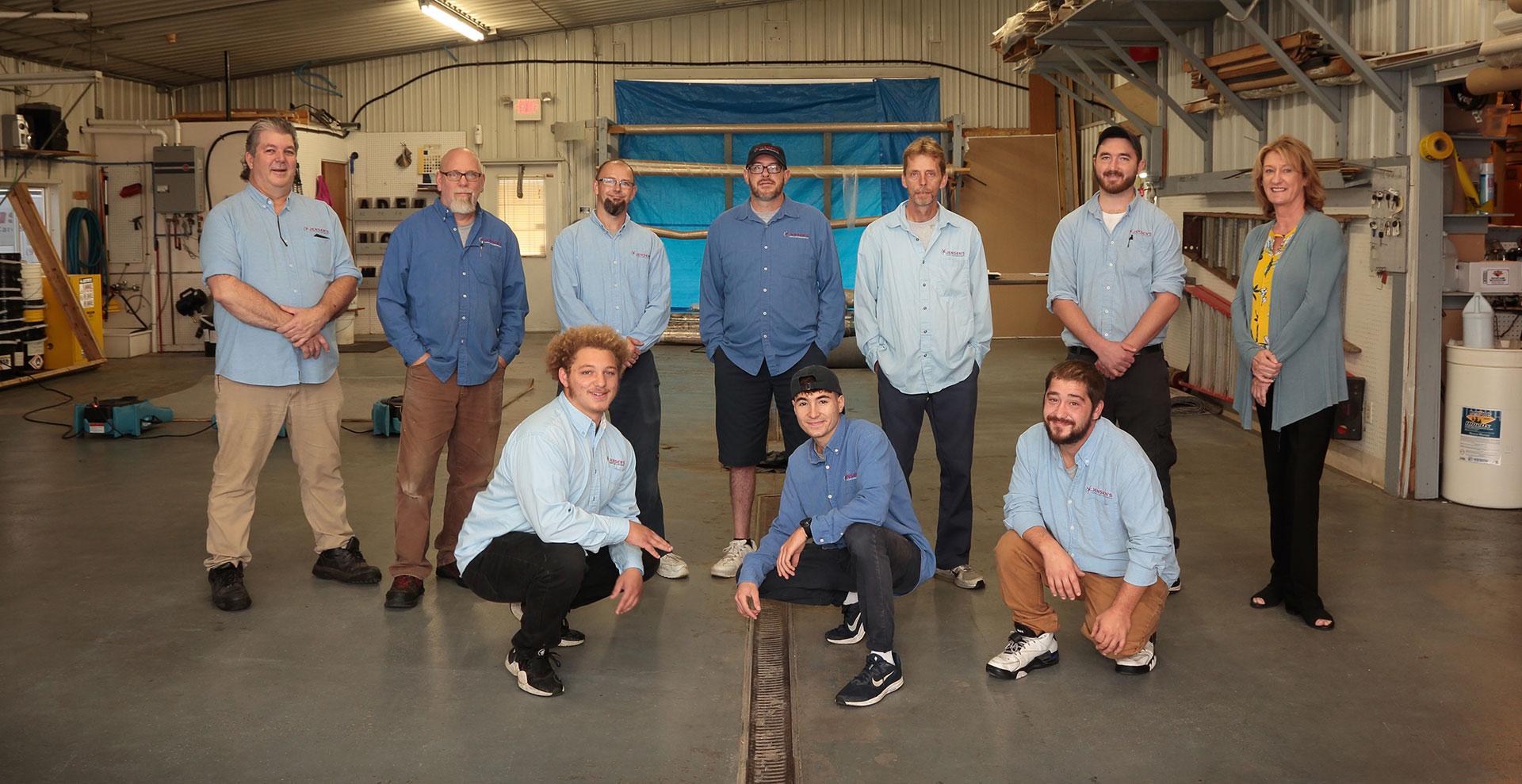 Jensen's Carpet Care & Restoration Team