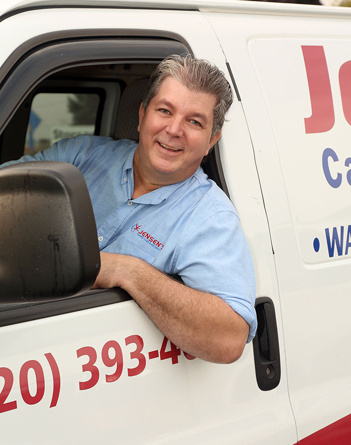 Joel Jensen-Owner of Jensen's Carpet Care