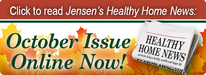 Click to read August 2021 Jensens Healthy Home News